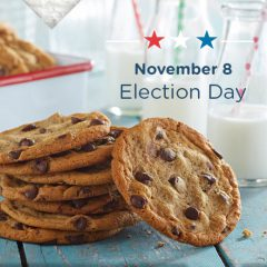 Vote Tuesday for Free Meals and Snacks