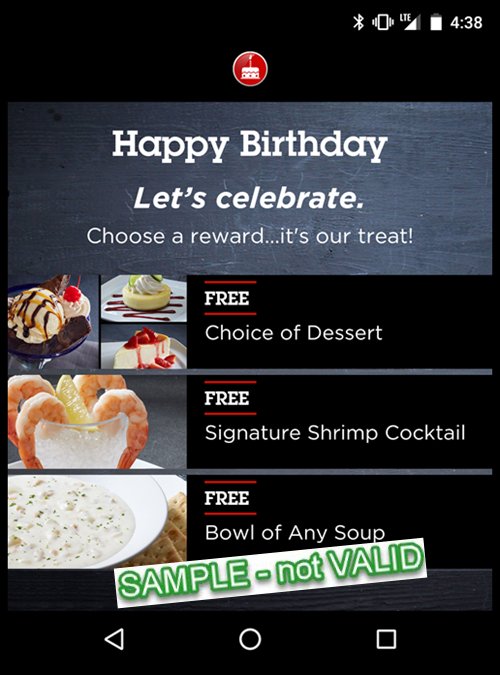 photograph relating to Red Lobster Printable Menu titled Crimson Lobster Birthday - Obtain Application in the direction of Indicator Up