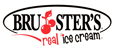Brusters Real Ice Cream logo.