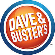 Dave and Busters logo.