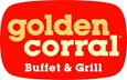 Golden Corral logo. Home of the Good As Gold Club.