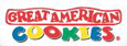 Great American Cookies logo.