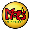 Moes Southwest Grill logo.