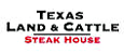 Texas Land and Cattle logo.