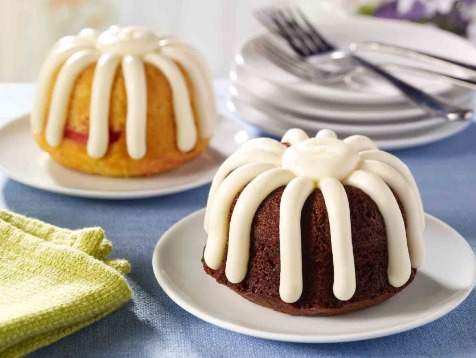 A free bundlet from Nothing Bundt Cakes.