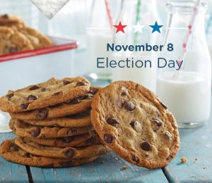 Great American Cookie Election Day