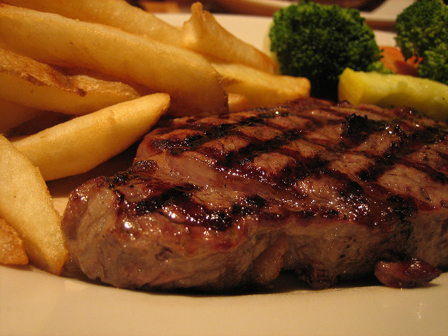 You can get a free steak dinner for your birthday at Black Angus Steakhouse.